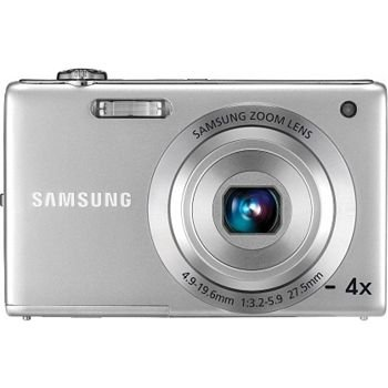 Samsung TL105 12 Megapixel Digital Camera with 4x Optical Zoom, 27mm Wide Angle Lens, 2.7 LCD, Digital Image Stabilization, Silver