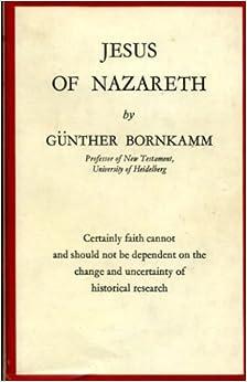 gunther bornkamm jesus of nazareth pdf
