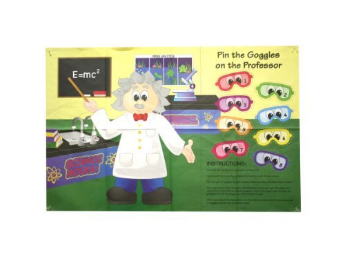 Pin The Goggles On The Professor Paper Game Case Pack 24 - 1