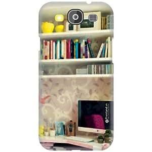 Printland Designer Back Cover for Samsung Galaxy S3 Neo - Book Reading Case Cover