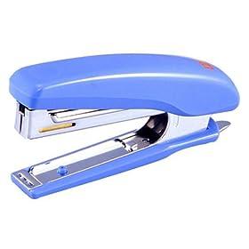 マックス ホッチキス 20枚とじ HD-10D/ B ブルー: 文房具・オフィス用品