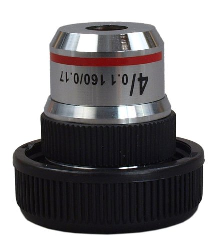 Omax 4X Achromatic Objective Lens For Compound Microscopes