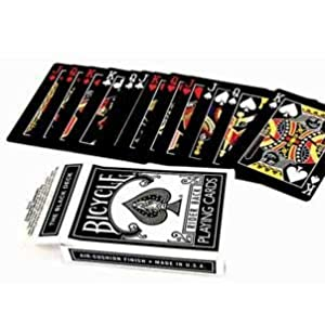 Magic Makers Original Bicycle Black Deck - 1st Generation