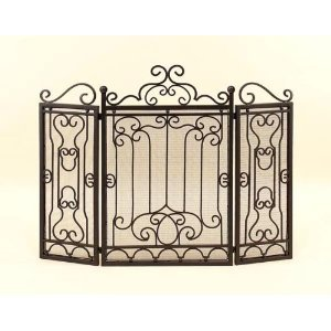 Why Should You Buy Toscana Safety 3 Panel Metal Fireplace Screen