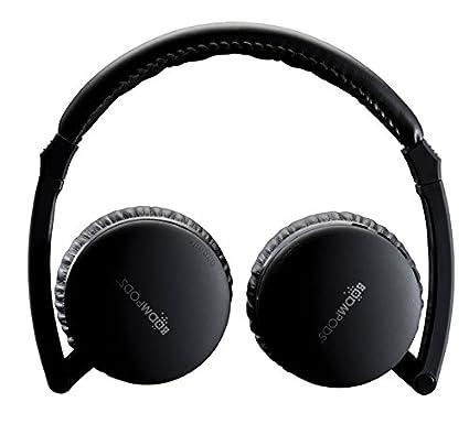 Boompods Airpods Casque d'écoute compact sans fil Noir