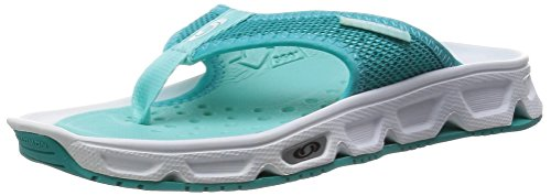 Salomon RX Break, Sandali da Atletica Donna, Bianco (White/Teal Blue/Bubble Blue), 40 EU