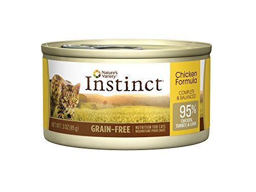 Instinct Grain-Free Chicken Canned Cat Food by Nature's Variety (Case of 24)