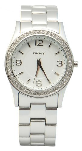 DKNY Aluminum with Glitz - Silver Women's watch #NY8307