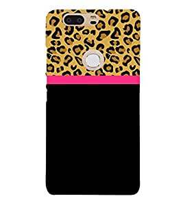 Leopard Pattern Wallpaper 3D Hard Polycarbonate Designer Back Case Cover for Huawei P8