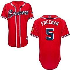 Freddie Freeman Atlanta Braves Alternate Red Replica Jersey by Majestic by Majestic