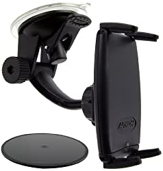 Arkon Windshield/Dashboard Mount for All iPhone Models - Retail Packaging - Black