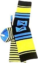 Nike 2 PairsPack High Crew Socks Youth Black BlueNeon 3Y-5Y