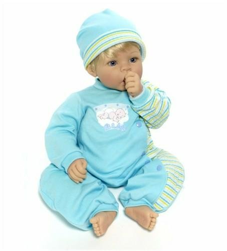 "Madame Alexander Mommy'S Delight Boy, 19"", Blonde/Blue Eyes front-548662"