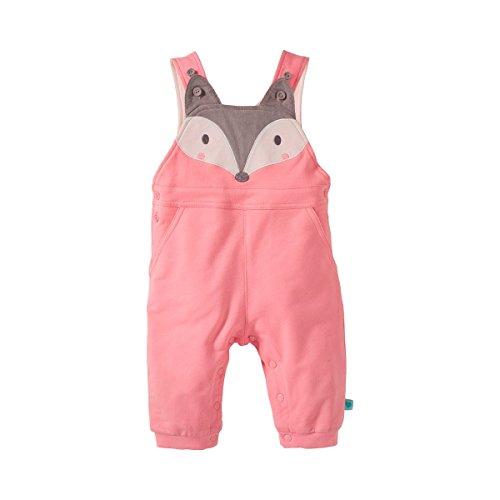 BORNINO Sweat-Latzhose Baby-Hose, Größe 86/92, rosa