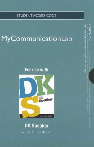 NEW MyCommunicationLab without Pearson eText -- Standalone Access Card-- for DK Speaker