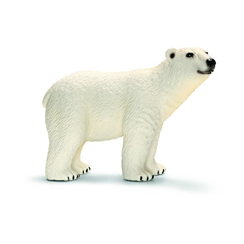 Schleich Polar Bear Toy Plastic Replica Figure