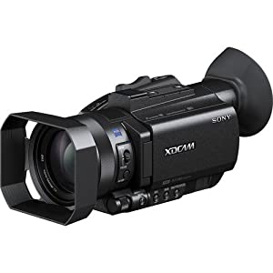 Sony PXW-X70 Professional XDCAM Compact Camcorder w/ CS Reality TV Kit: Includes High Definition Wide Angle Lens, Telephoto HD Lens, 3 Piece HD Filter Kit (UV,CPL,FLD) 4 Piece Macro Close-up Set (Diopters +1+2+4+10) 6 Piece Graduated Color Filter Kit, 3 L