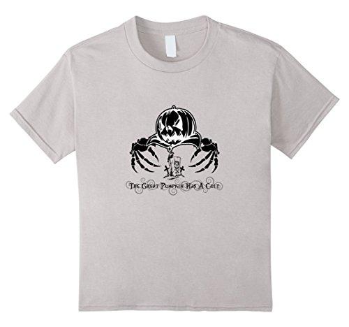 Kids The Great Pumpkin Has A Cult T-Shirt 4 Silver (Cult Classic Halloween Costume Ideas)