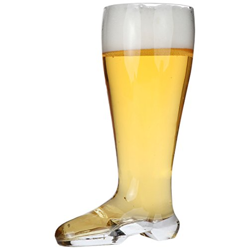 Lily's Home Beer Boot, Das Boot Beerfest Beer Glass, Large Oktoberfest Beer Stein - 2 Liter