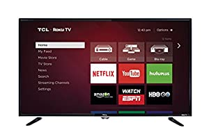 TCL 40FS3800 40-Inch 1080p Roku Smart LED TV (2015 Model)