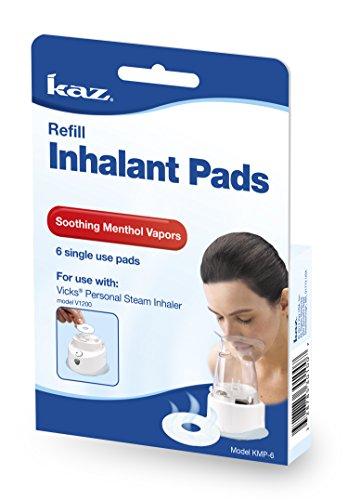 Kaz Aromatic Inhalant Pads, 6 Count (Steam Inhaler Asthma compare prices)
