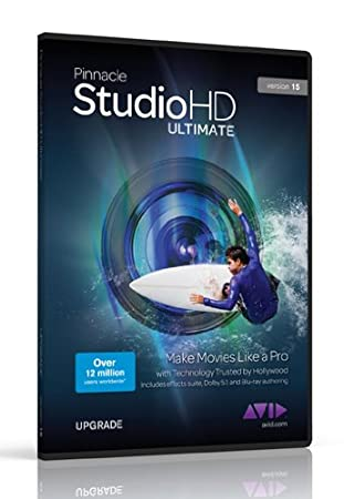 Pinnacle Studio HD Ultimate v15, Upgrade Edition (PC)