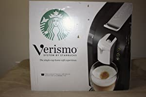 Starbucks Verismo Coffee Maker Instructions : Starbucks Verismo Single-Cup Coffee and Espresso Maker 11023258 , Black - O-ZOA