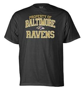 Baltimore Ravens Black Property of T-shirt
