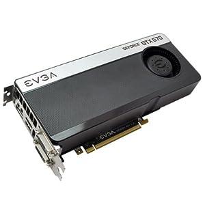 EVGA GeForce GTX670 2048MB GDDR5 256bit, 2x Dual-Link DVI, HDMI, DP, 4-Way SLI Ready Graphics Card (02G-P4-2670-KR)