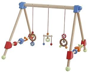 Roba 98810 - Spielbogen Holztrapez, Lernspielstation