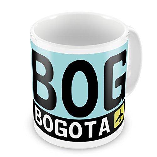 Coffee Mug Airport code BOG / Bogota country: Columbia - Neonblond