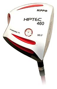Hiptec Geo Driver. 460Cc Forged Titanium Geometric Head (Right Handed, 10.5- Degrees Loft)