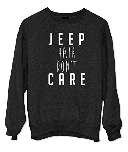 Jeep Hair Don't Care Felpa Nero Medium