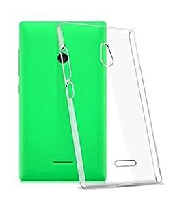 OFM Transparent Soft Back Case Cover for Nokia XL - Transparent