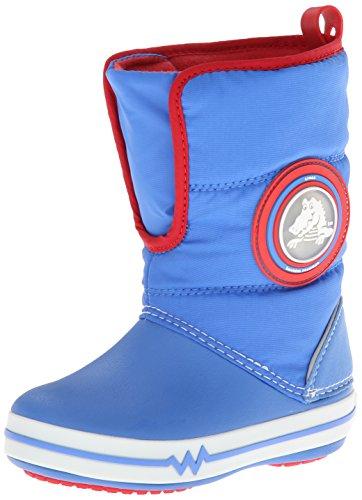 [クロックス] Crocs Crocslights Gust Boot PS 15811 varsity blue/white (varsity blue/white/C9)