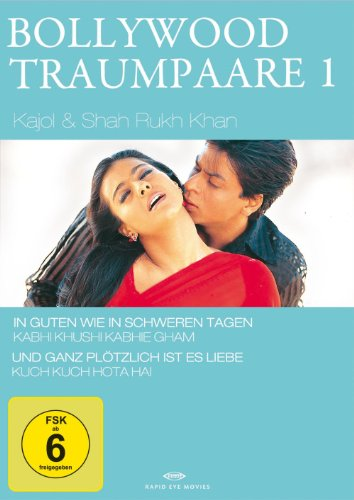 Bollywood Traumpaare 01: Shah Rukh Khan & Kajol [2 DVDs]