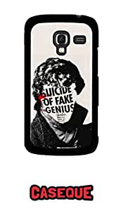 Caseque Suicide of Fake Genuis Back Shell Case Cover for Samsung Galaxy Ace 2