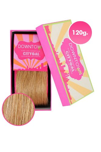 100% Remy Human Hair Clip Extensions in Golden Blonde 120g 20 Inch