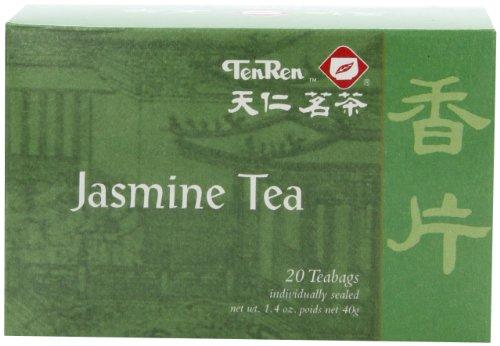 Ten Ren Jasmine Tea, 20-Count (Pack of 6)