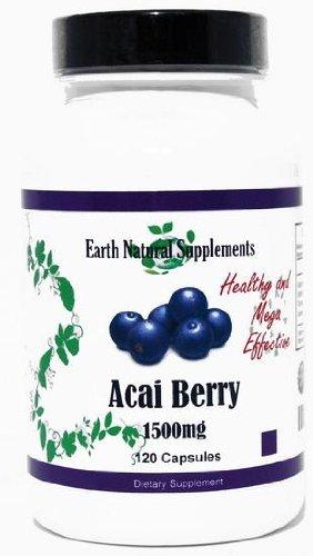 Acai * 120 Capsules 1500mg Assai Fruit Antioxidant Amino Acids Fatty Acids