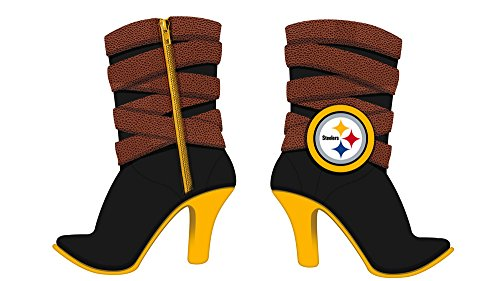 Team Sports America Polystone Pittsburgh Steelers Boot Ornament at SteelerMania
