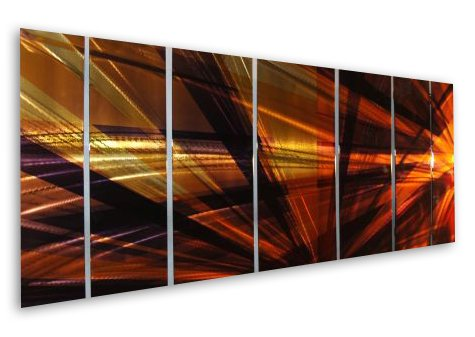 138×48 Contemporary Metal Wall Decor – Unique Artwork – Modern Painting , modern home decor, metal wall sculpture, contemporary wall art