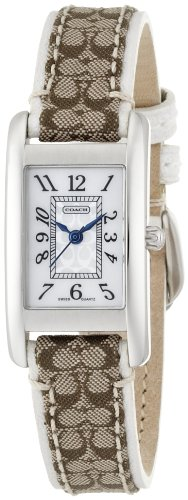 Coach women's Lexington signature watch 14501078