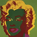 Marilyn Monroe (Marilyn), c.1967 (on green) Art Print Art Poster Print by Andy Warhol, 12x12