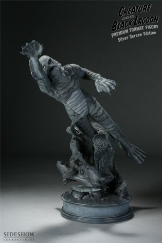 Buy Low Price Sideshow Universal Monsters Creature From the Black Lagoon Silver Screen Statue Sideshow Figure (B003C84L0C)