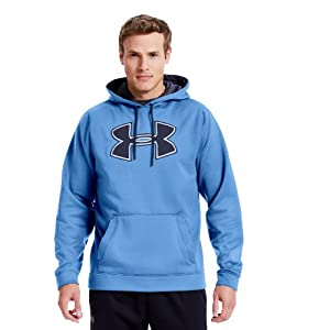 Under Armour Men's Armour® Fleece Storm Big Logo Hoodie Medium Carolina Blue