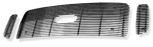APS Polished Chrome Billet Grille Grill Insert #F65707A (2004 Ford F350 Grill compare prices)