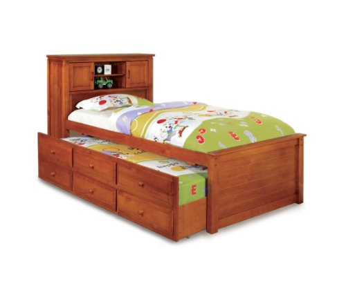 Furniture of America Cameron Twin Captain Bed