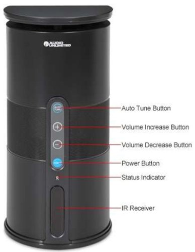 Audio Unlimited Wireless Add-On Extra Speaker For Existing 900 Mhz Audio Unlimited Systems (Black) (Spk-Velo2)