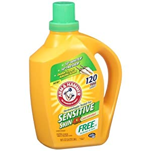 Arm & Hammer Sensitive Skin 4x Concentrated Liquid Laundry Detergent